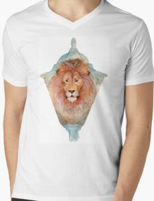 Aslan Mens V-Neck T-Shirt