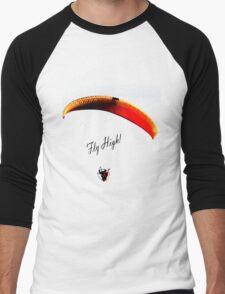 Fly High! Men's Baseball ¾ T-Shirt