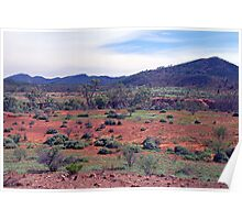 The Aroona Valley, Flinders Ranges, South Australia Poster