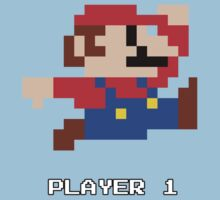 Mario Player 1 by BearCave