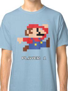 Mario Player 1 Classic T-Shirt