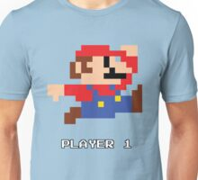 Mario Player 1 Unisex T-Shirt