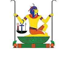 Heh [FRESH Colors] | Egyptian Gods, Goddesses, and Deities Photographic Print