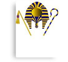Pharaoh Tut | Egyptian Gods, Goddesses, and Deities Canvas Print