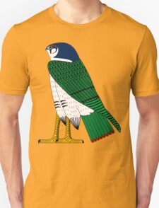Horus as Falcon   Egyptian Gods, Goddesses, and Deities Unisex T-Shirt