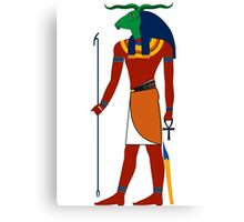 Khnum | Egyptian Gods, Goddesses, and Deities Canvas Print