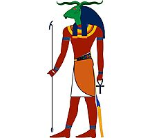 Khnum | Egyptian Gods, Goddesses, and Deities Photographic Print