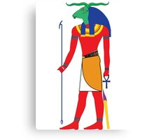 Khnum [FRESH Colors] | Egyptian Gods, Goddesses, and Deities Canvas Print
