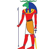 Khnum [FRESH Colors] | Egyptian Gods, Goddesses, and Deities Photographic Print