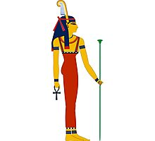 Maat | Egyptian Gods, Goddesses, and Deities Photographic Print