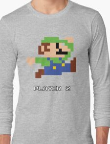 Luigi Player 2 Long Sleeve T-Shirt