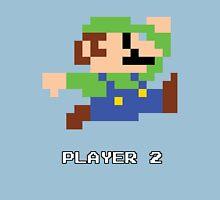 Luigi Player 2 Unisex T-Shirt
