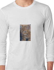 The precious kitten Long Sleeve T-Shirt