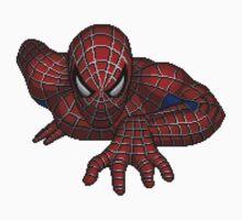 Spider-Man Pixelart One Piece - Long Sleeve