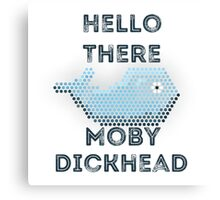 Moby Dickhead Canvas Print