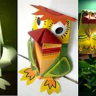 paper 3d work by limon