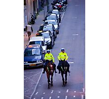 Equestrian Cops Photographic Print