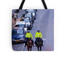 Equestrian Cops Tote Bag