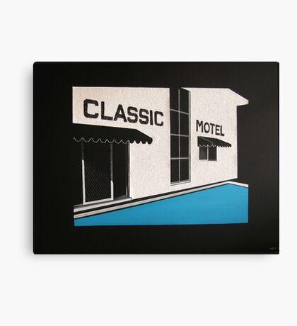 Classic Motel Canvas Print