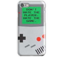 Player Hater iPhone Case/Skin