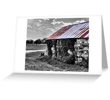 Tin Roof Greeting Card