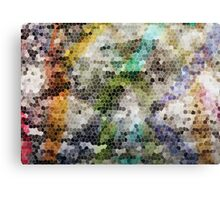 Graffiti Blocks Canvas Print