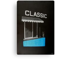 Classic on Paper Canvas Print