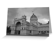 Exhibition Building, Melbourne Greeting Card