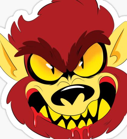 Wolfman Sticker