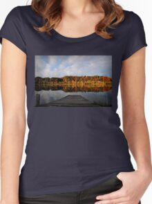 Peaceful Surroundings Women's Fitted Scoop T-Shirt