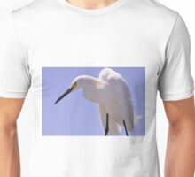 Snowy Egret, As Is.............Elvis? Unisex T-Shirt