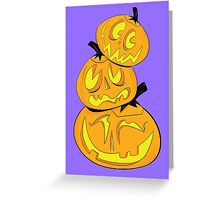 Stack-O-Lanterns Greeting Card