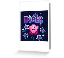 Hyper Greeting Card