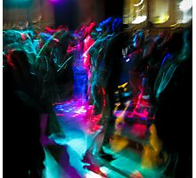 dance floor Photographic Print