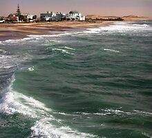 Swakopmund Beach by Adrianne Yzerman