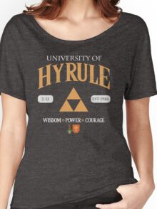 Classic University Crest Women's Relaxed Fit T-Shirt
