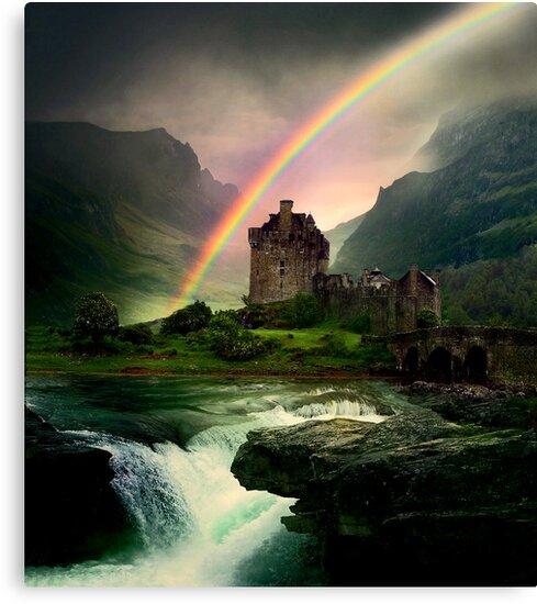 Rainbow Valley Castle by Vanessa Barklay