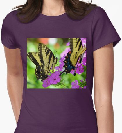 The Colors of Summer Womens Fitted T-Shirt