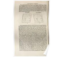 Famous Painter Parts Human Body Symmetry Four Books Geomety 1557 Albrecht Durer 0172 Heads Poster