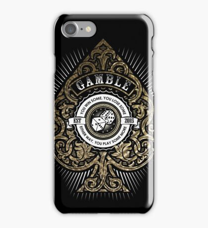 Gamble iPhone Case/Skin