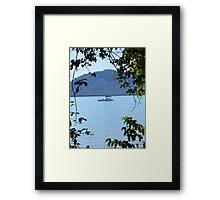 Framed by Nature Framed Print