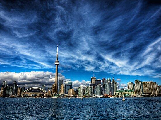 Toronto Skyline by NeilAlderney