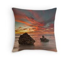 ∞ Two Rocks revisited ∞ Throw Pillow