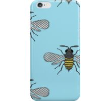 antique bees iPhone Case/Skin