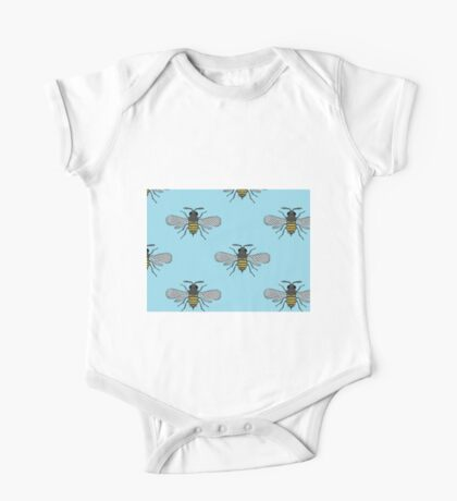 antique bees One Piece - Short Sleeve