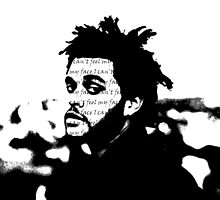 The Weeknd: I Can't Feel My Face by buckwild