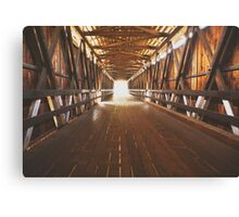 Historic Covered Bridge  Canvas Print