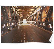 Historic Covered Bridge  Poster