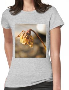 Dead Flower Womens Fitted T-Shirt