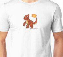 Red Charmeleon pokemon Unisex T-Shirt
